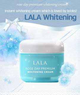 Lala rose premium whitening cream