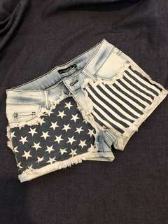 US Low waist shorts