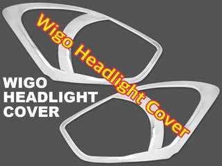 WIGO HEADLIGHT AND TAILLIGHT CHROME COVER (cannot be bought separately)