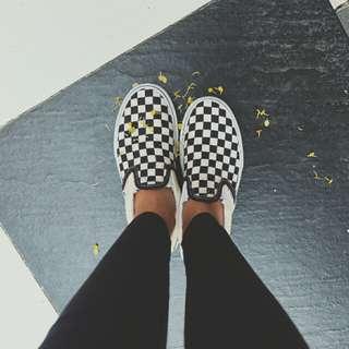 Sepatu vans checkerboard