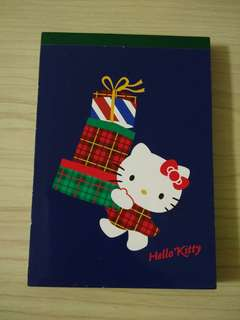 Hello Kitty Memo Pad (made in Japan)