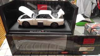 Kyosho 1/18 Skyline R32 GTR