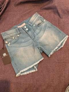 Rock & Republic Blue HW shorts