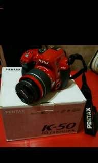 🚚 PENTAX  k-50單眼相機九成九全新