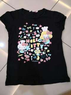 Uniqlo Hello Kitty Shirt (10-11y)