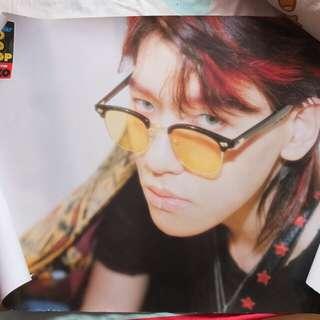 Official EXO Kokobop Baekhyun Poster