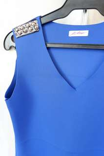 Semi-formal Dress Royal Blue