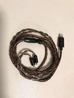Iphone 耳機升級線