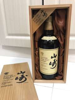 金花山崎12年木盒