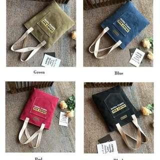 TJ01 Jean Tote Smart Bag Simple Trend / Tas Selempang
