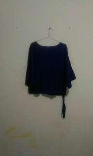 #mausupreme electric blue top