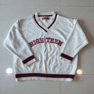 Over Size Knit 毛衣