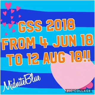 GSS Starts Now In My Shop!!
