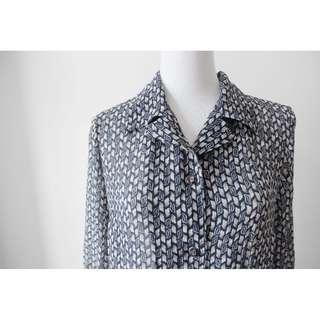 🚚 ::FlowerHolic:: Vintage 古著長袖襯衫 130