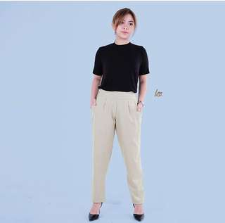 Fern Green Trouser Pants With Pocket