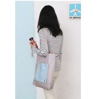 Korean Weekeight Folding Tote Bag / Tas Serbaguna Korea