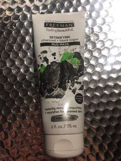 Jual Freeman Mud Mask Charcoal + Black Sugar