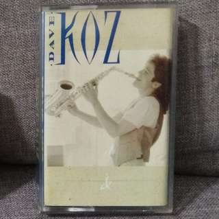 arthcs DAVE KOZ Cassette Tape (Nothing But The Radio On, Endless Summer Nights etc)