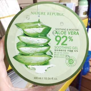 Nature republic aloe vera soothing gel 92% 300mL Original