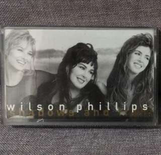 arthcs WILSON PHILIPS Shadows and Light Cassette Tape (You Won't See Me Cry etc)