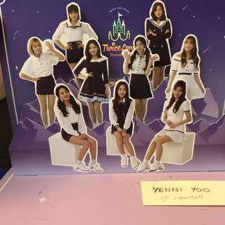 TWICE Twiceland Fantasy Park Pop Up Card