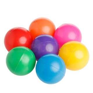 Colorful Ball Fun, Soft Plastic Ocean Ball (50Pcs set)