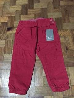 Zara Baby Red Pants