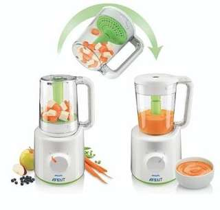 Philips Avent 2 in 1 steam and blend