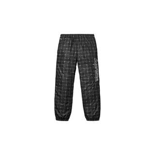 Authentic Supreme x Lacoste Reflective GridTrack Pants