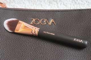 Zoeva Face Curve brush in rose gold