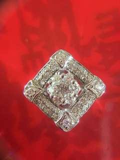 💠💠🌟 18K天然鑽石吊墜 🌟💠💠