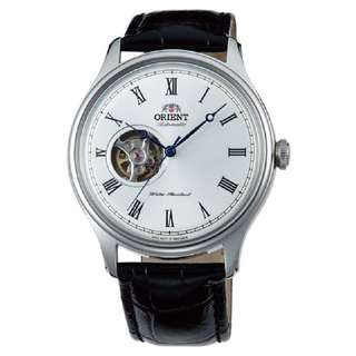 only hk$949, 100% new Orient Open Heart Automatic White Dial Men's Watch手錶