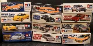Tamiya 1/24 Scale sports car Series