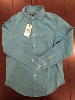 ORIGINAL Polo Ralph Lauren Kids Blue Shirt