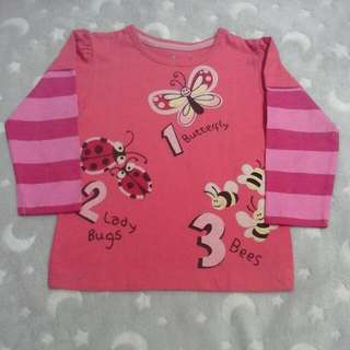 jumping beans top shirt baby girl 18 months