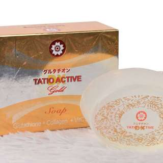 Glutathione Soap (Tatio Active Dx Glutathione Gold Soap)