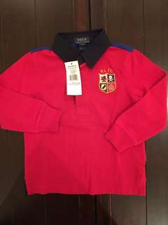 ORIGINAL Polo Ralph Lauren Kids Rugby Shirt