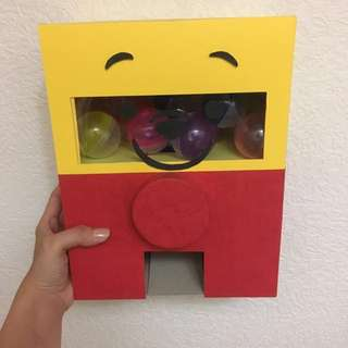 🚚 維尼扭蛋機 手工卡片 手工 扭蛋機