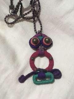 Owl Purple Necklace