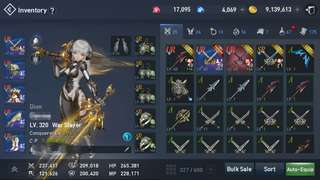 Lineage2Revolution Dion WarSlayer Account