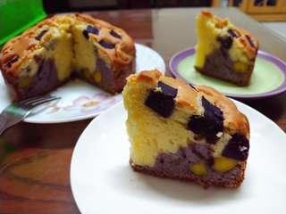 雙薯磅蛋糕