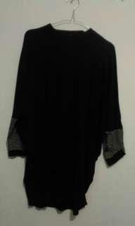 #mausupreme tunik hitam