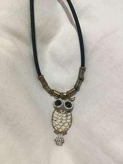 Kalung Owl jaring