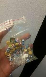 Free! Random beads and S lock