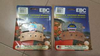 EBC EPFA pads for Brembo Calipers