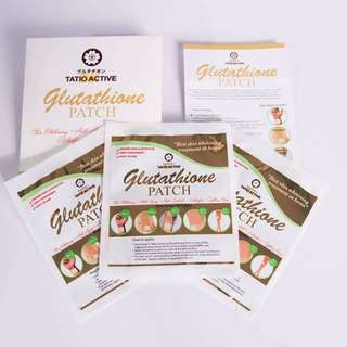 Glutathione Patch (Tatio Active Dx Glutathione Patch)
