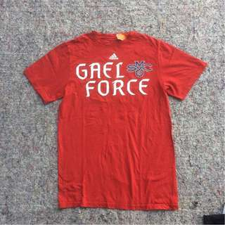 ADIDAS GAEL FORCE RED THE GO TO TEE