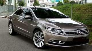 Volkswagen Passat Cc 1.8 (A) Tsi Sport (Limited Edition) Sambung Bayar / Car Continue Loan