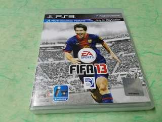 PlayStation~ 3   FIFA 13  game made in japan