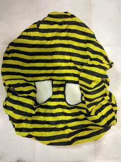 Baby high chair cover